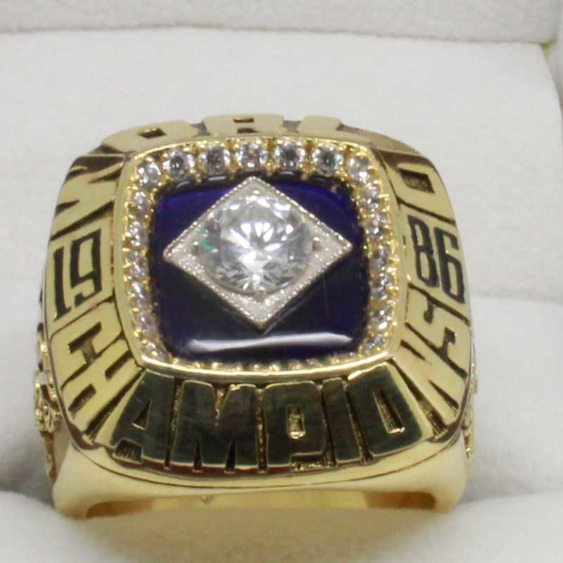 NY Mets 1986 World Series Ring