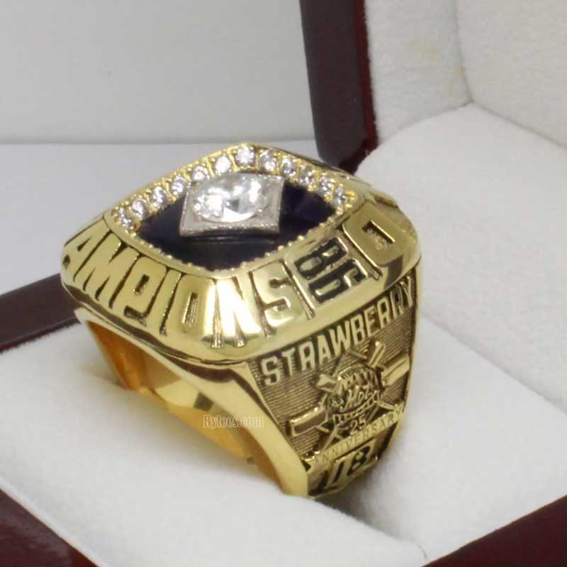 1986 Mets Championship Ring