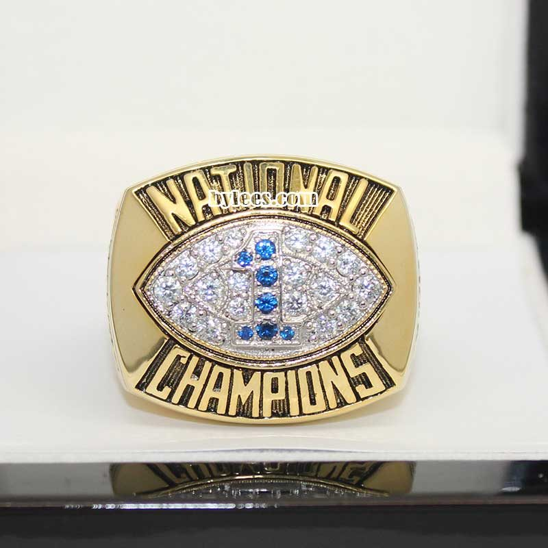 1986 Penn State National Championship Ring