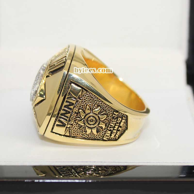 Penn State Nittany Lions 1986 National Championship Ring