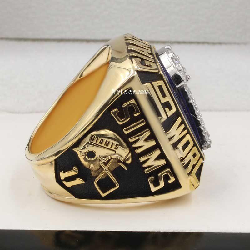 New York giants Championship Ring (1986 super bowl XXI Champions)