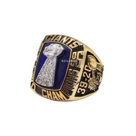 super bowl xxi ring