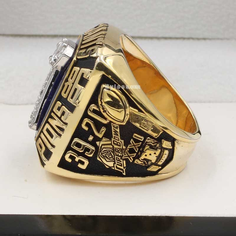 1986 new york giants super bowl ring