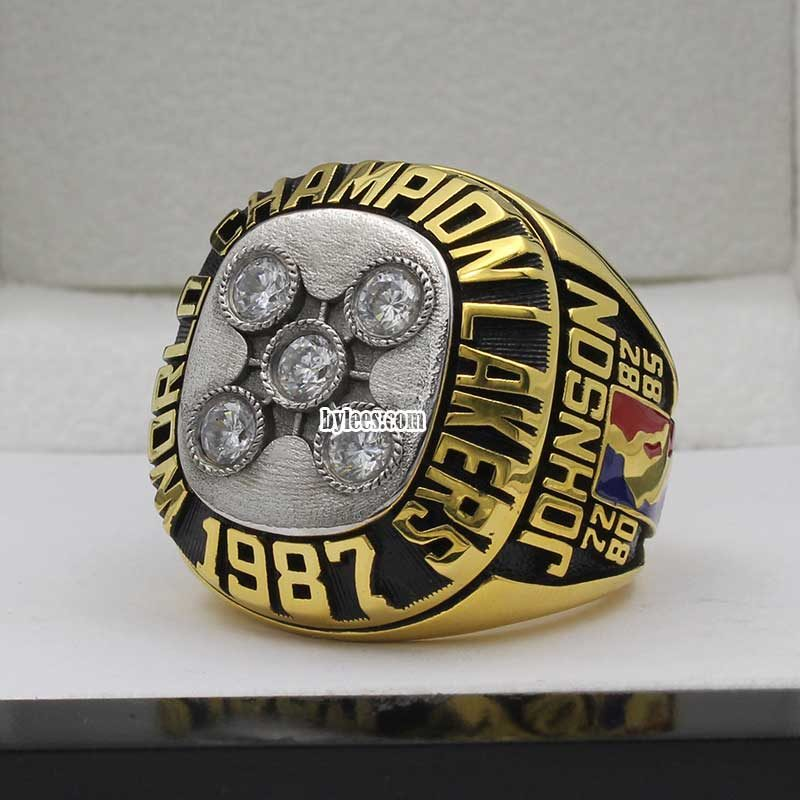 magic johnson championship rings