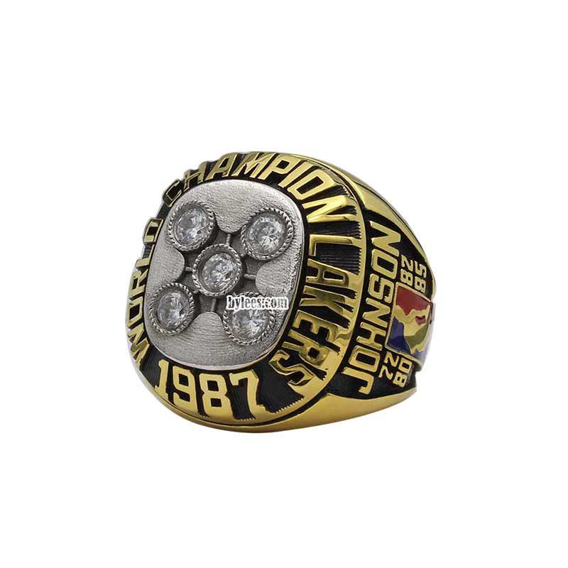1987 nba championship ring