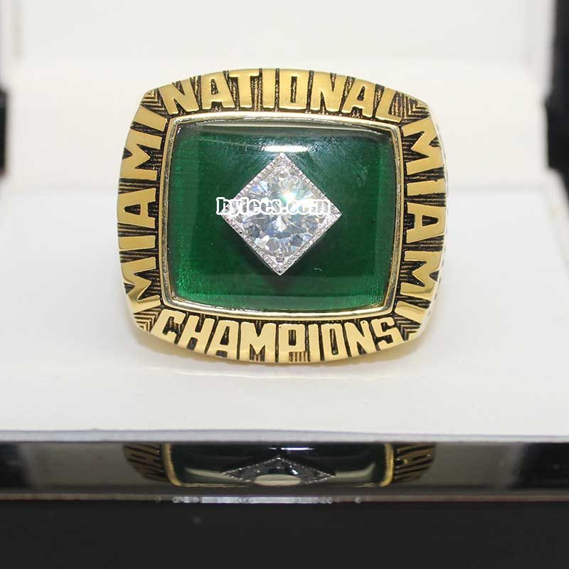1987 Miami National Championship Ring