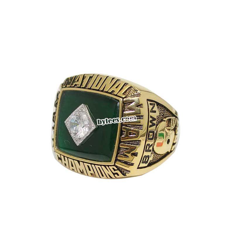 1987 UM National Championship Ring