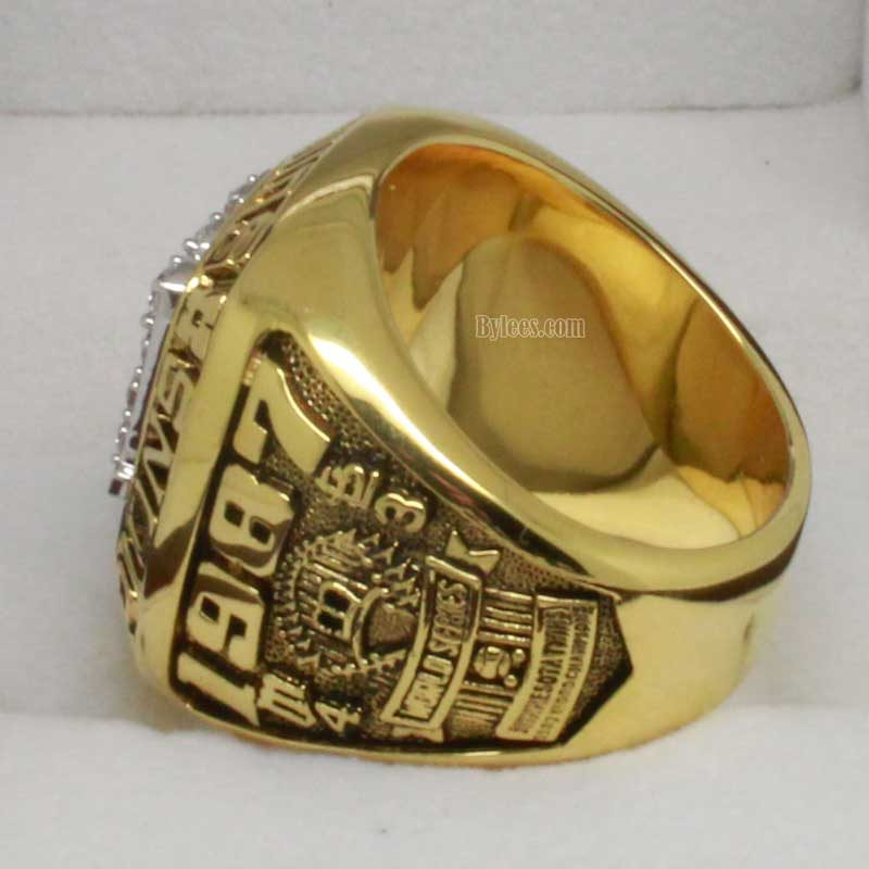 Minnesota Twins 1987 World Series Championship Ring