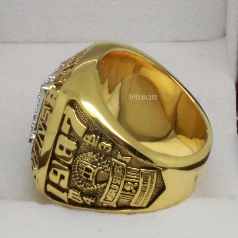 1987 Minnesota Twins World Series Championship Ring