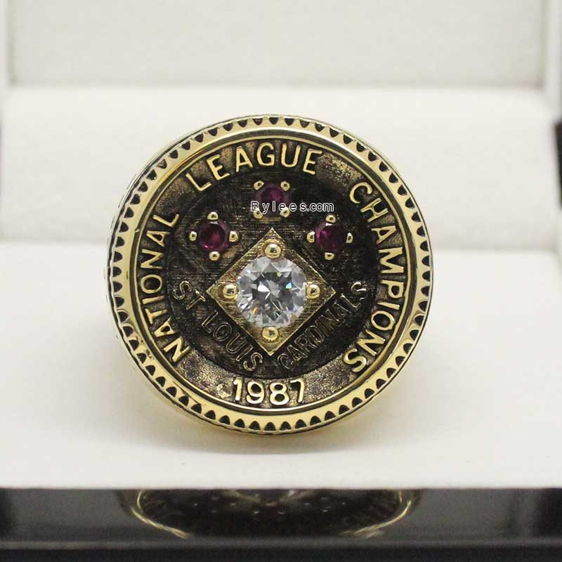 1987 St Louis Cardinals Championship Ring