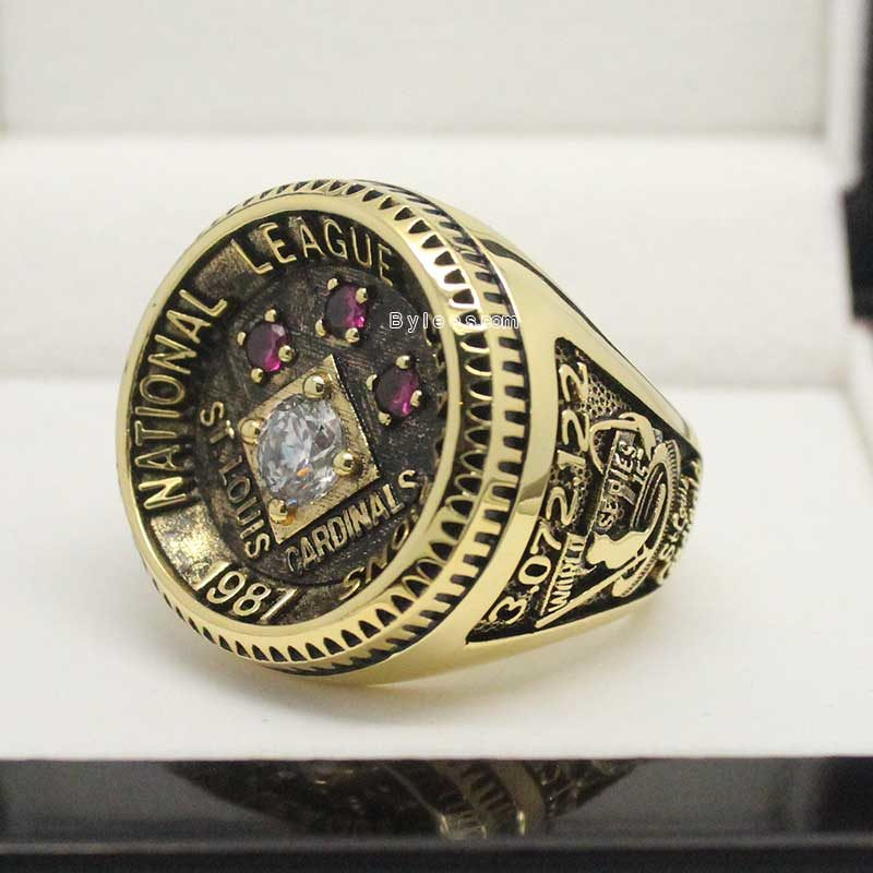 1987 St Louis Cardinals National League Championship Ring