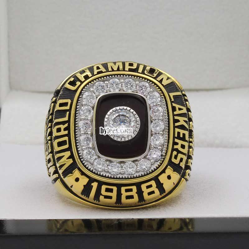 1988 nba championship ring