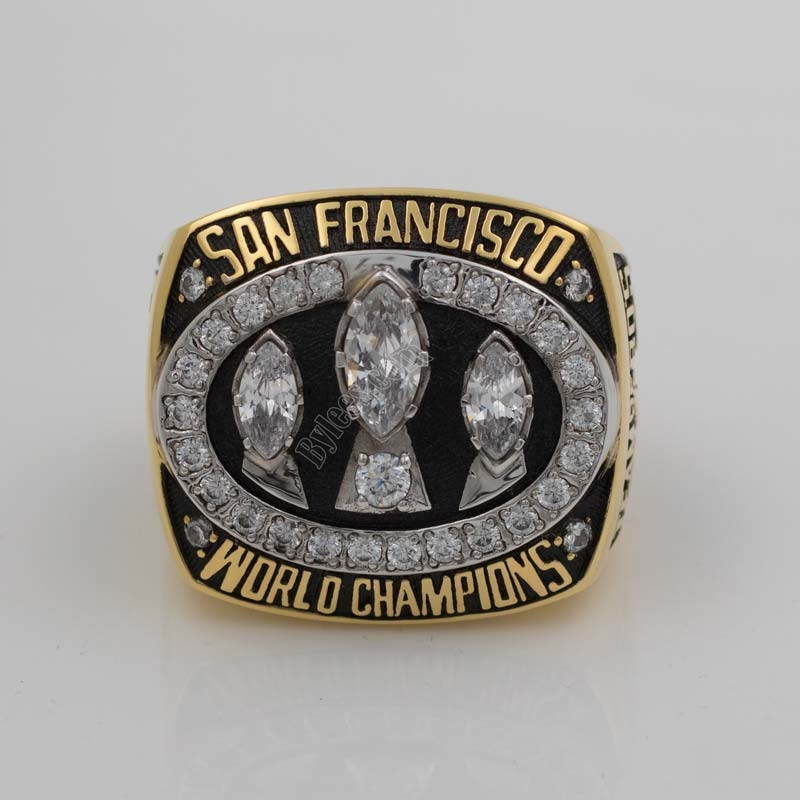 1988 49ers super bowl XXIII championshp ring