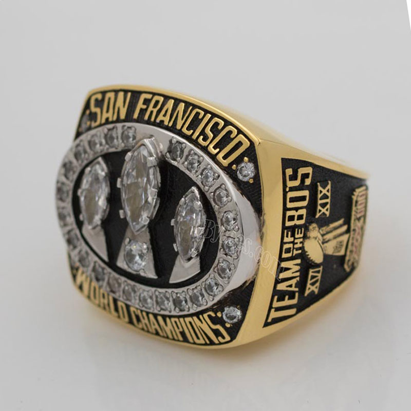 San Francisco 49ers 1988 Super Bowl Championship ring