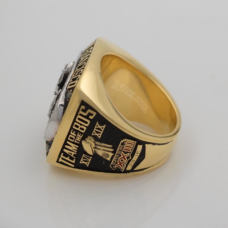 1988 San Francisco 49ers Championship ring