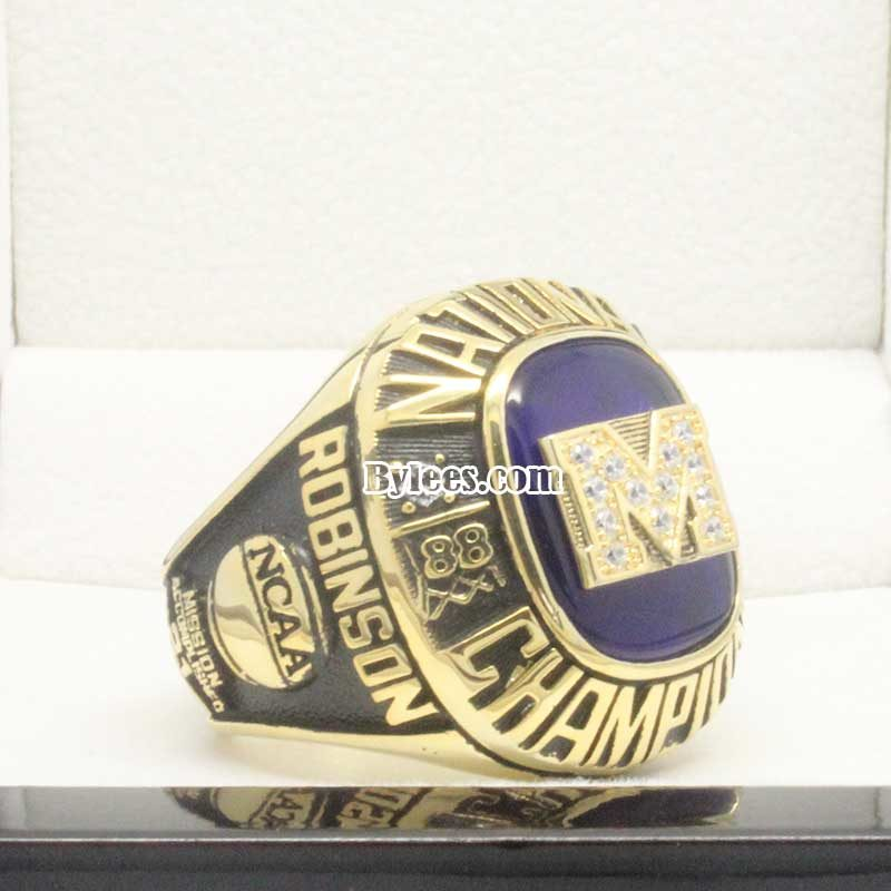 1989 Michigan Wolverines Championship Ring