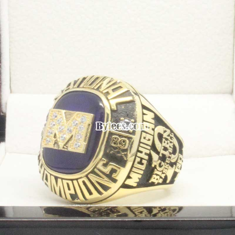 1989 Michigan Wolverines National Championship Ring
