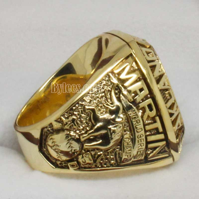 Oakland Athletics world series ring 1989