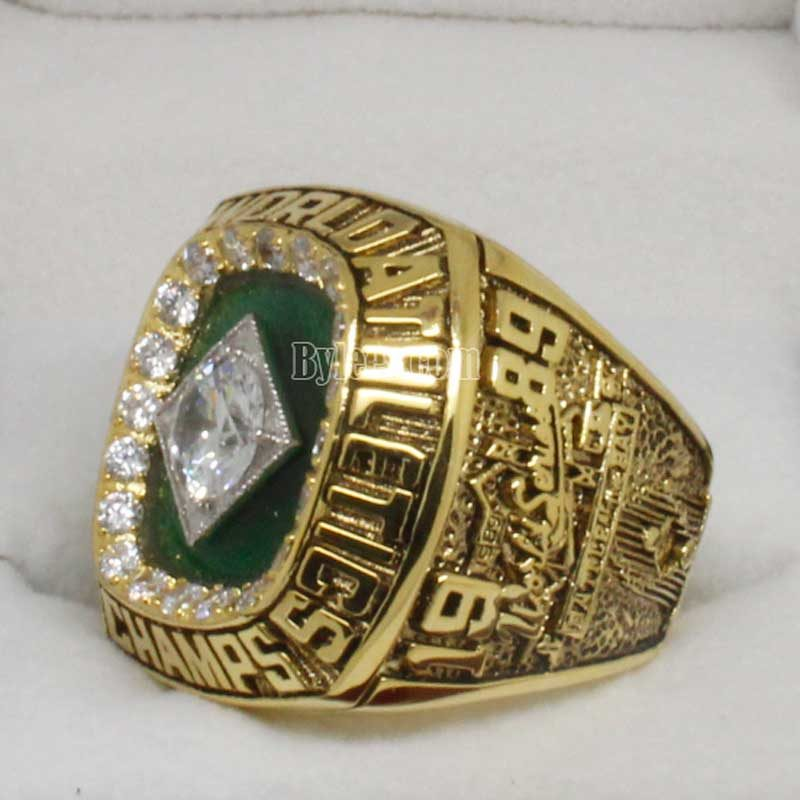 Oakland Athletics 1989 world series ring