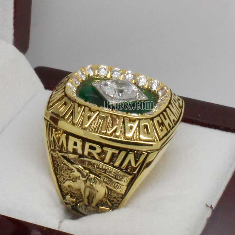 Oakland a's world series ring 1989