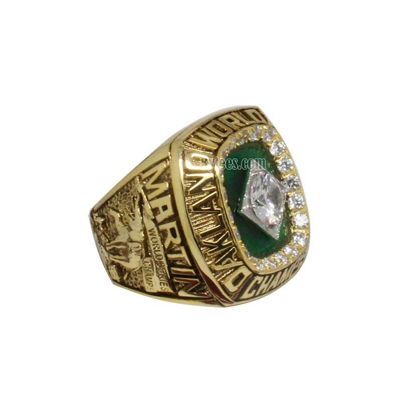 1989 Oakland Athletics World Series Championship Ring