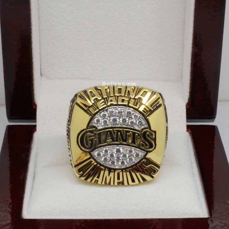 1989 San Francisco Giants Championship Ring