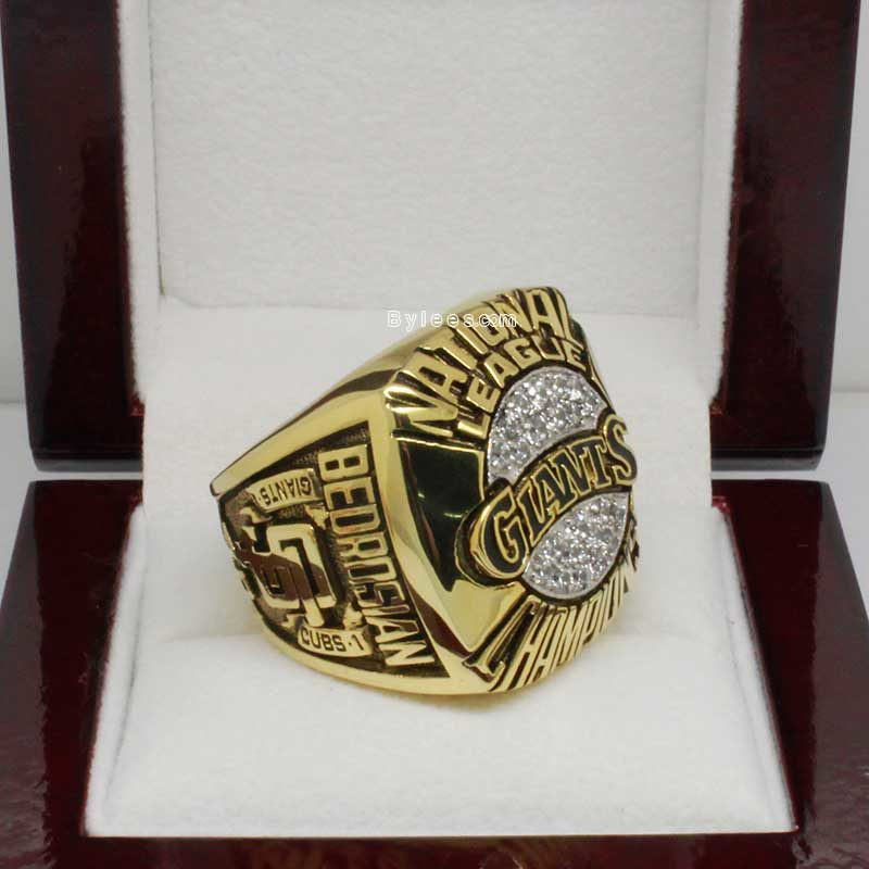 1989 MLB Giants NL Championship Ring