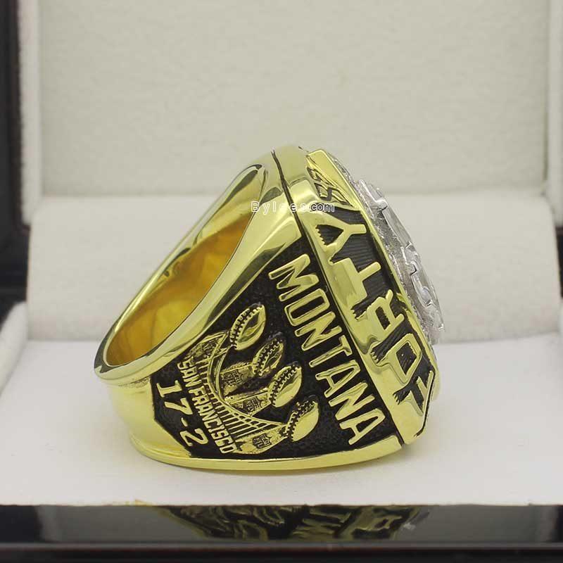 Super Bowl XXIV ring