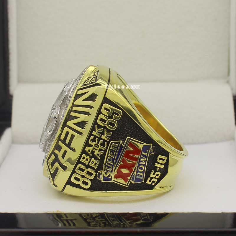 1989 super bowl ring