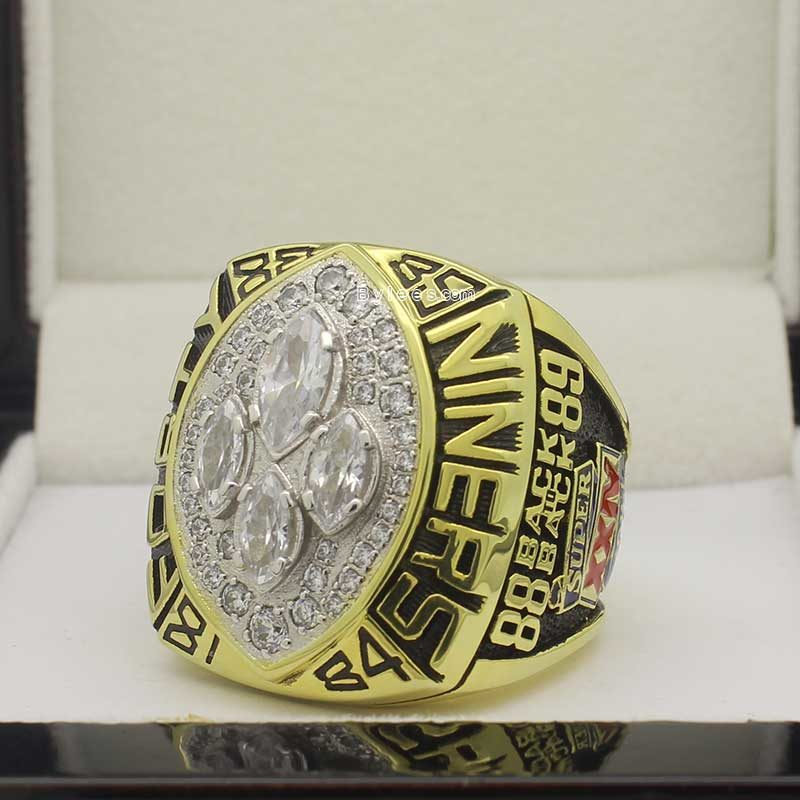 joe montana 1989 super bowl ring