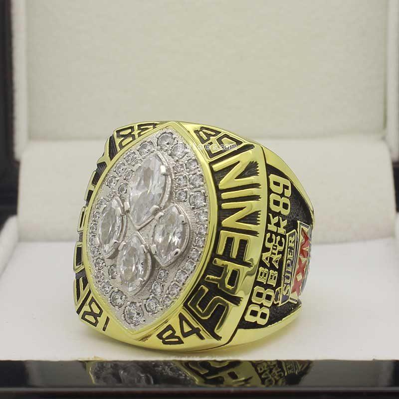 joe montana 1989 super bowl ring