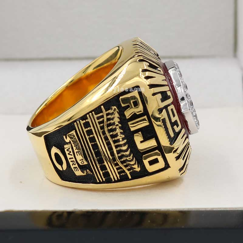 1990 Cincinnati Reds World Series Championship Ring – Best Championship Rings|Championship Rings ...