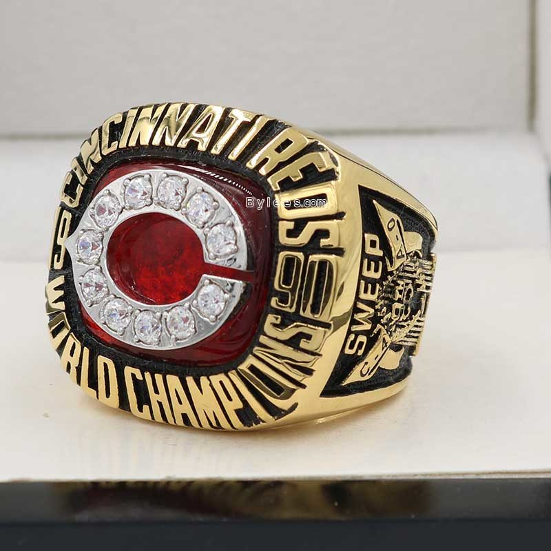 1990 Reds World Series Championship Ring