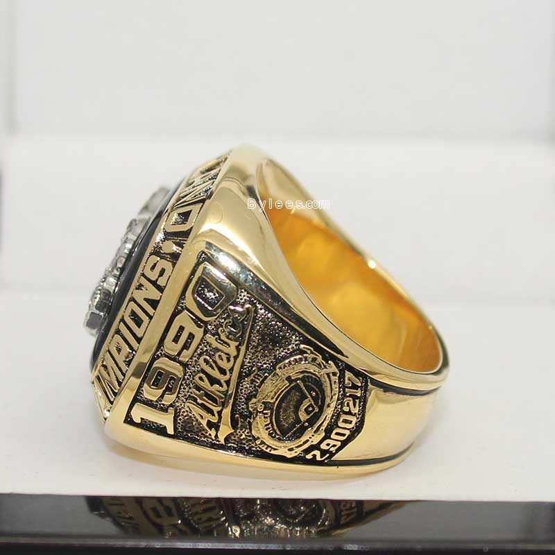 1990 Oakland Athletics AL Championship Ring