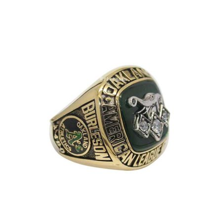1990 Oakland Athletics American League Championship Ring