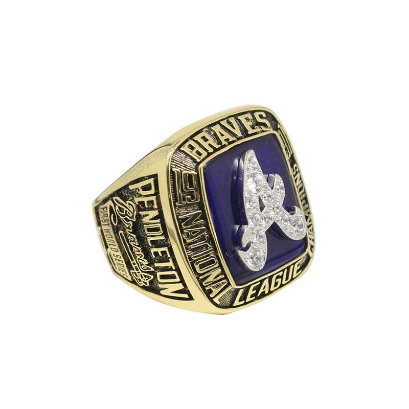 1991 Atlanta Braves National League Championship Ring (thumbnail)