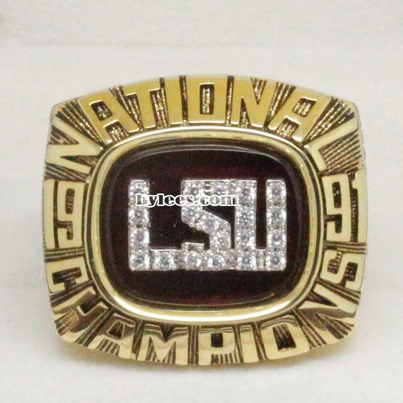 1991 LSU Baseball National Championship Ring