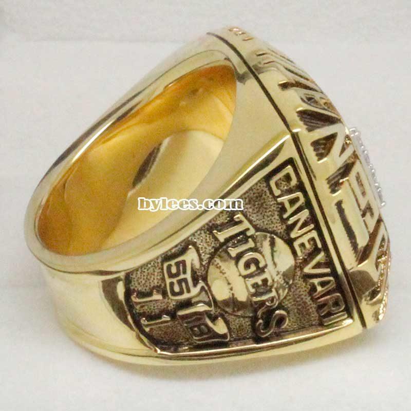 1991 Baseball National Championship Ring
