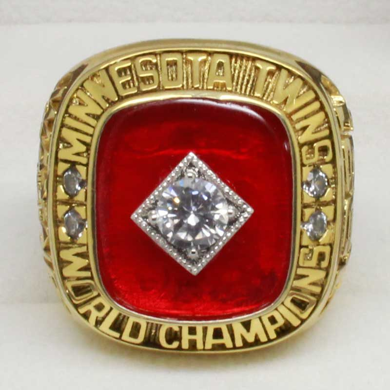 twins 1991 world series ring
