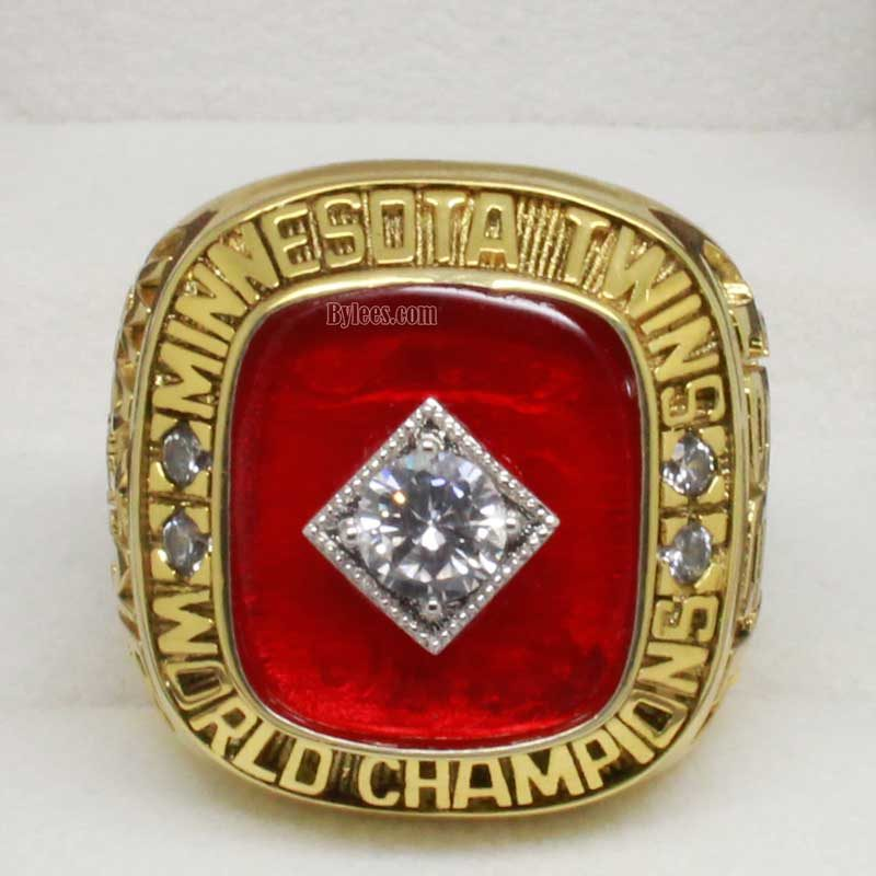 twins world series ring 1991