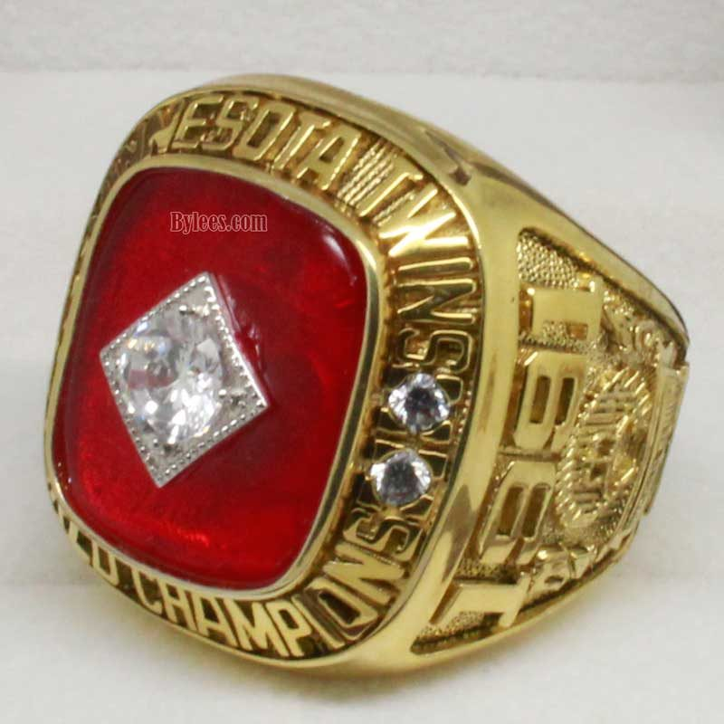 1991 world series ring