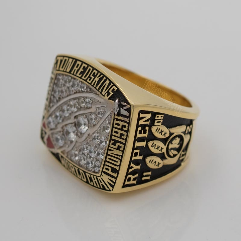 1991 Super Bowl XXVI Washington Redskins Championship Ring