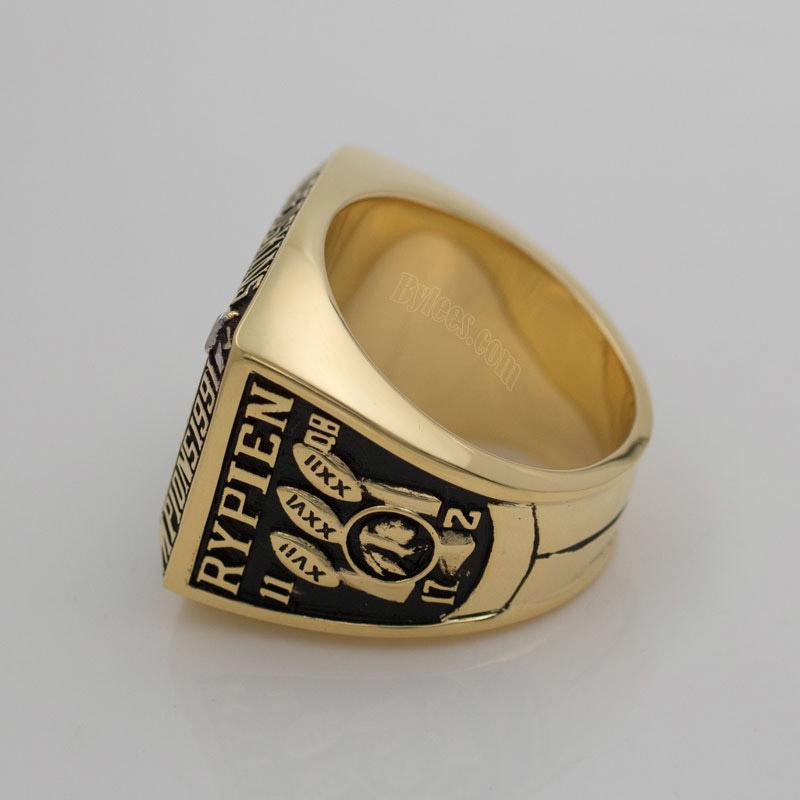 1991 Mark Rypien super bowl XVI ring