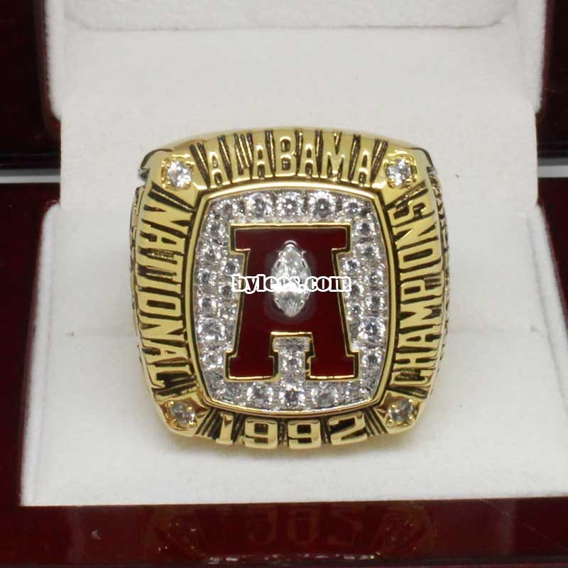 Alabama 1992 National Championship Ring
