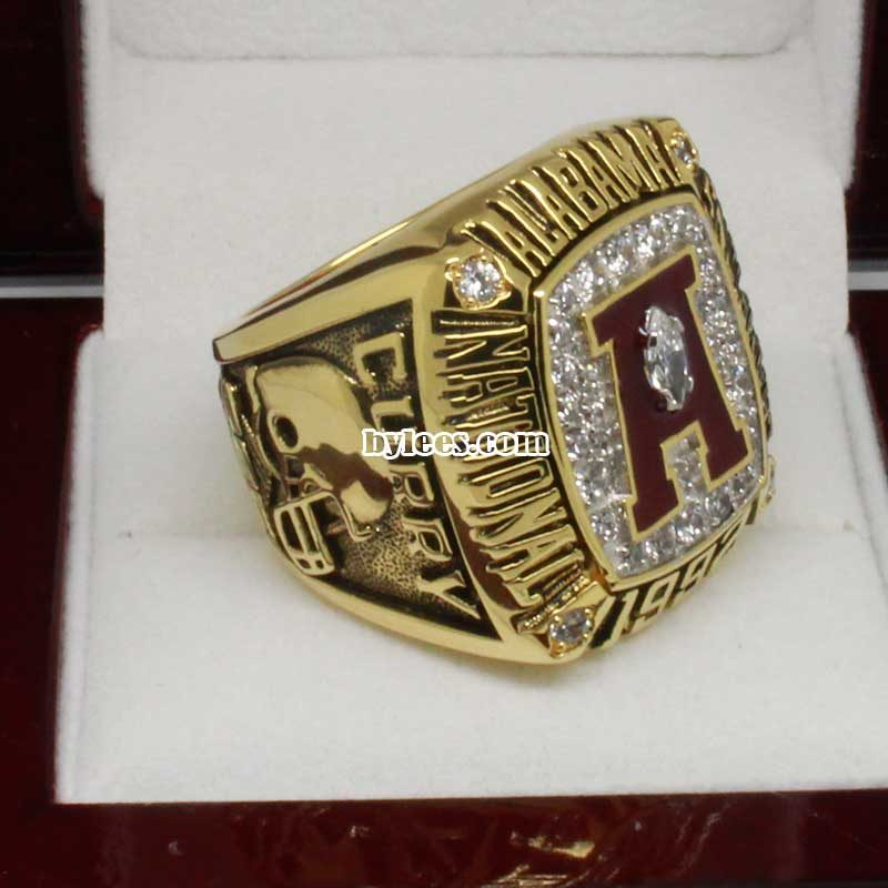 1992 Alabama National Championship Ring
