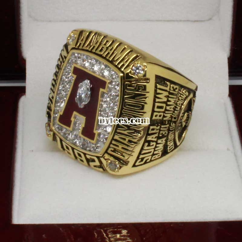 Crimson Tide 1992 Football National Championship Ring