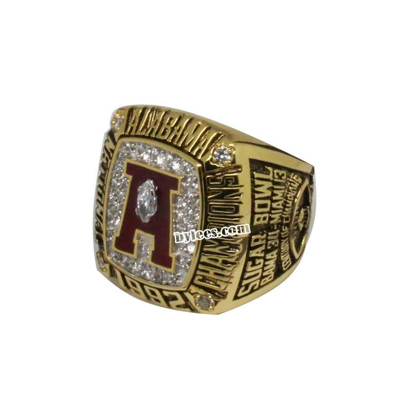 1992 bama Crimson Tide National Championship Ring