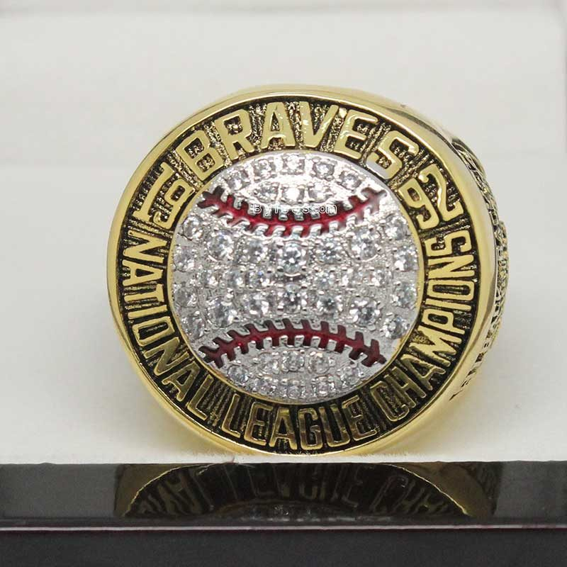 1999 Atlanta Braves Championship Ring