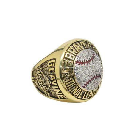 1992 Atlanta Braves National League Championship Ring (thumbnail)