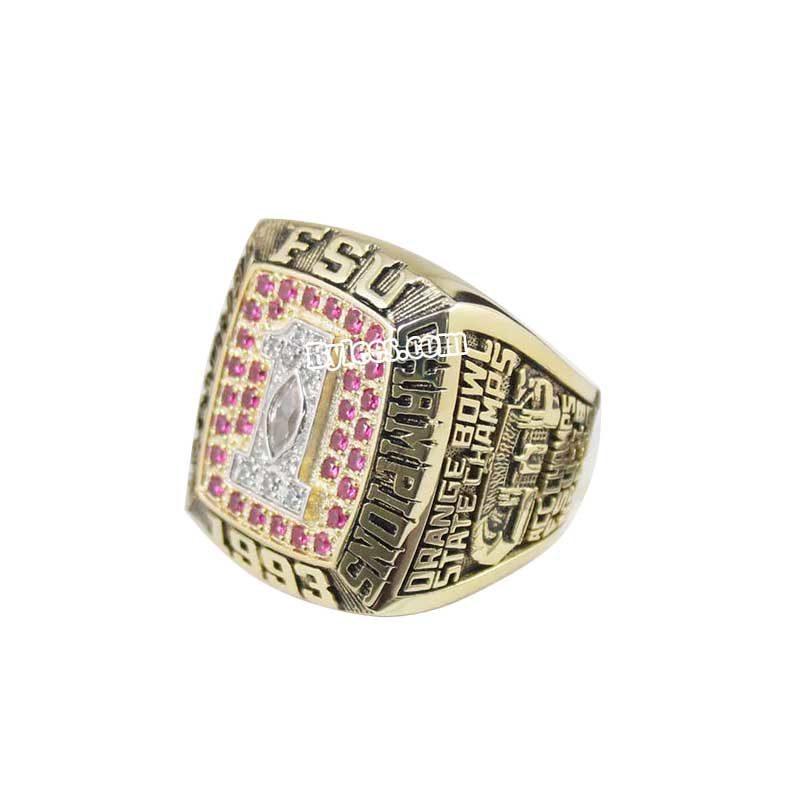 1993 Florida State Seminoles National Championship Ring